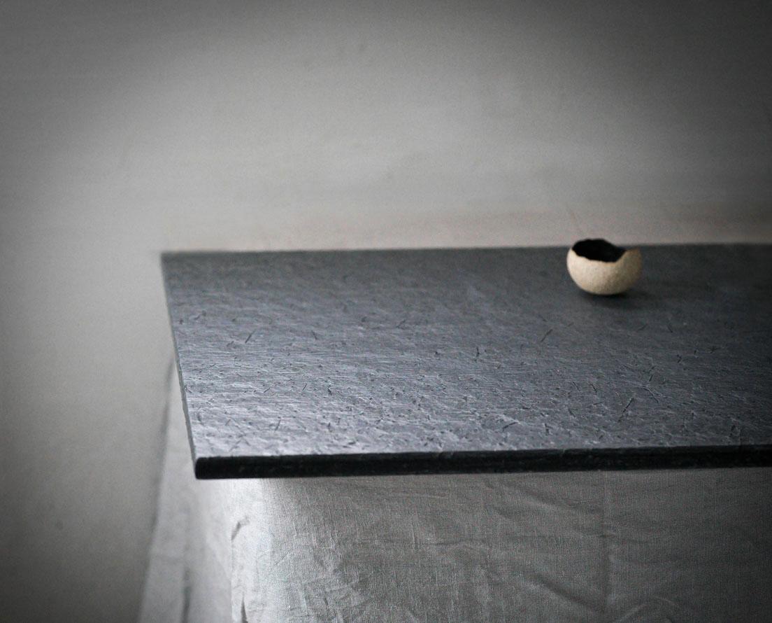 Benkeplate Otta skifer i børstet overflate