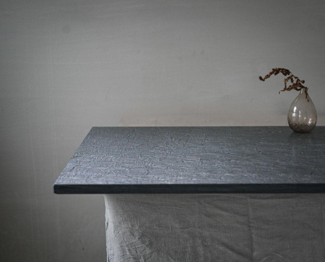 Benkeplate Otta skifer i slipt overflate