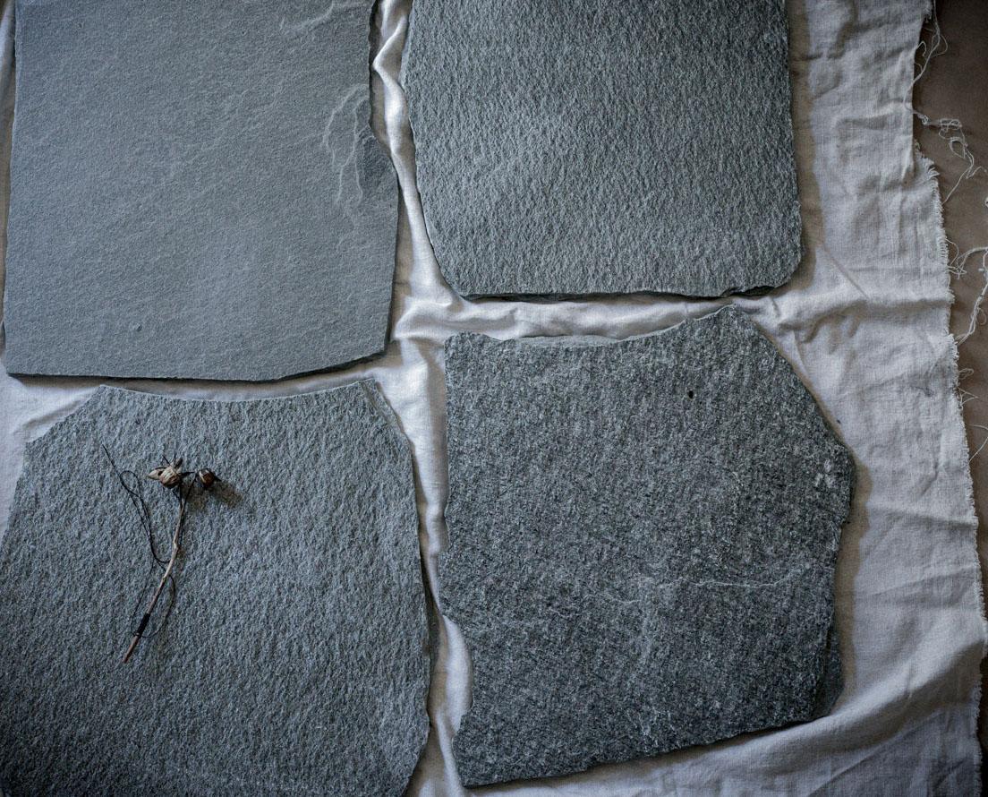 Bilde som viser Offerdal bruddskifer / bruddheller