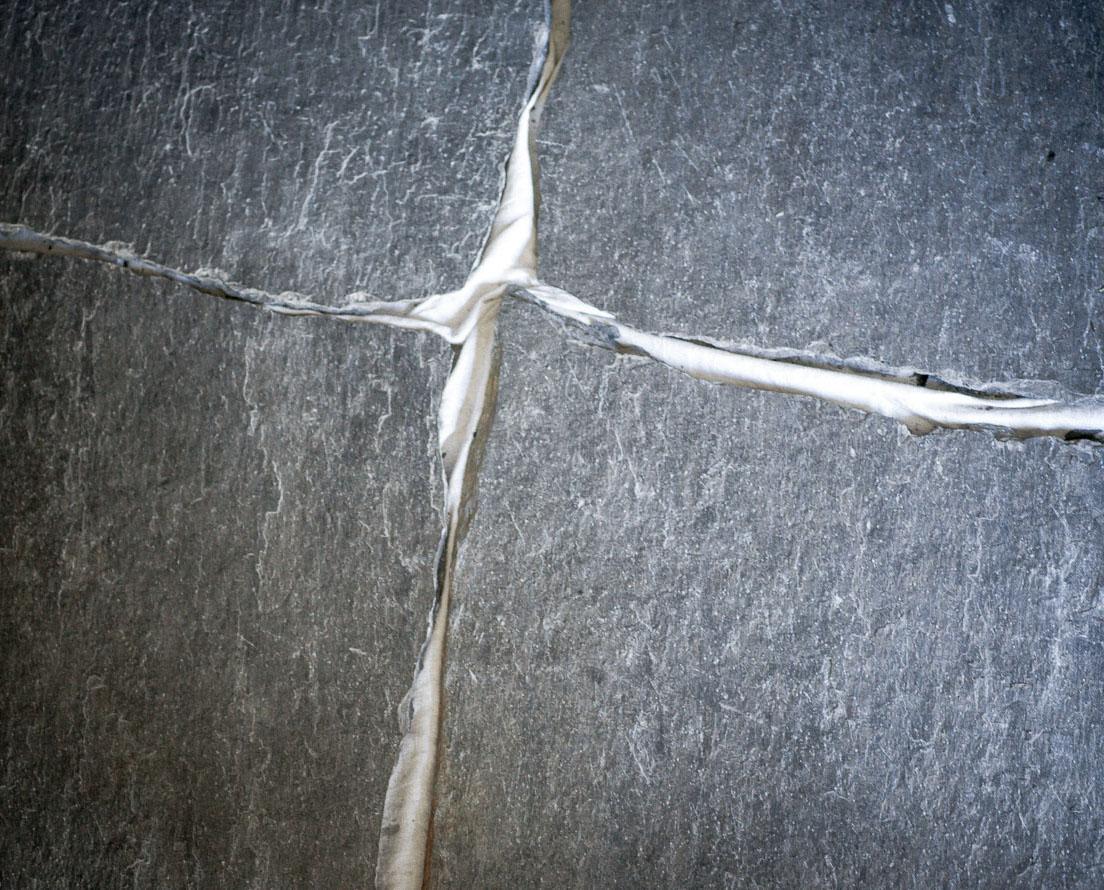 Bilde som viser bruddskifer / bruddheller Otta natur fra Minera