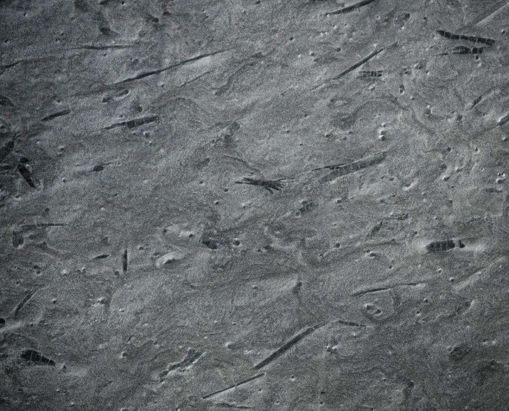 Overflatebilde av skifer Otta børstet