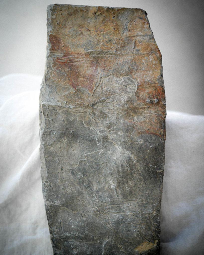 Nærbilde av Ottaskifer, et miljøvennlig materiale
